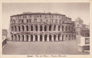 Italy Roma Rome Vie del Mare e Teatro Marcello