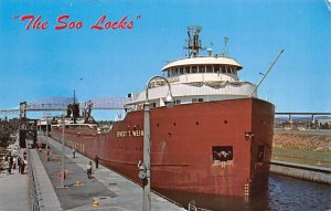 Soo Locks Ernest T Weier Ship Unused