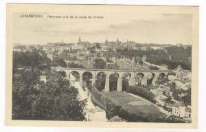 Luxembourg Panorama pris de la route de Treves, 00-10s