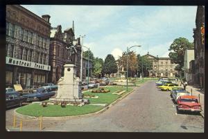 Brockville, Ontario, Canada Postcard, Cenotaph Square,1960's