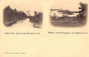 Wolfeboro New Hampshire Lake Wentworth Winnipesaukee Vintage Postcard JA4742571