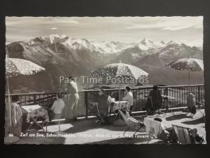 Austria - Zell am See, Schmittenhohe 1968 m Blick Hohen Tavern - Old RP Postcard