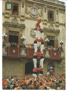 Postal 045675 : Vilafranca del Penedes (Barcelona). Els Castellers