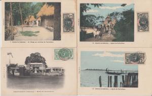 PORTO NOVO DAHOMEY BENIN AFRICA AFRIQUE 32 CPA (pre-1940)