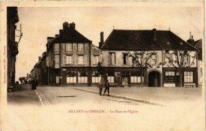 CPA Aillant-sur-Tholon - La Place de l'Eglise FRANCE (961296)
