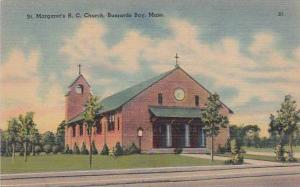 Massachusetts Buzzards Bay Saint Margarets R C Church
