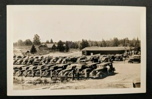 Mint Vintage Callander Ontario Canada Playhouse Hospital Real Picture Postcard