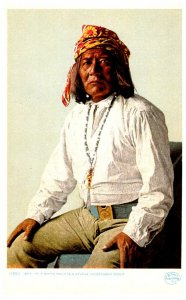 American Bo-ni-to-A  White Mountain Goverment  Apache Scout     ,  Reproduction