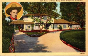 California North Hollywood Home Of Gene Autry Curteich