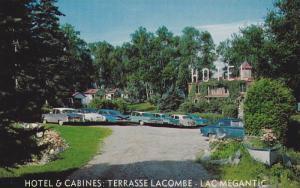 Hotel & Gardens: Terrasse Lacombe- Lac Megantic , Quebec , Canada,  50-60s