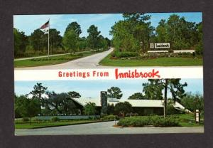 FL Innisbrook Golf Course TARPON SPRINGS POSTCARD PC