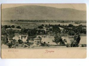 173095 TURKEY SMYRNE Baths of Diana Vintage postcard