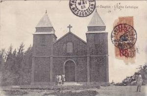 Madagascar Fort Dauphin L'Eglise Catholique 1905