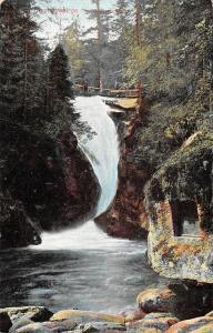 Poland Riesengebirge Forest Waterfall