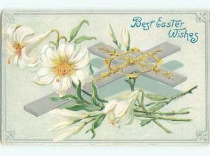 Divided-Back EASTER SCENE Great Postcard AA1355