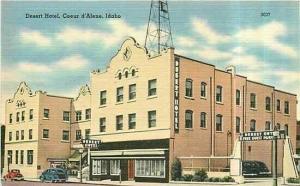 ID, Coeur D' Alene, Idaho, Desert Hotel, John W.Graham 75404