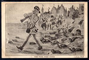 The Fool Pied Piper,Uncle Sam Parody,Political