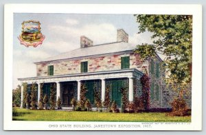Jamestown Expo VA~Period Stone~Aldena Governor Mansion~Ohio State Bldg~1907