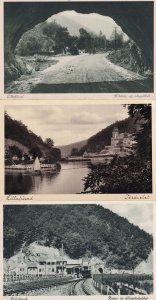 Lillafured Kilatas Boat Train Ship 3x Hungary Old Postcard s