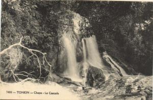 CPA Vietnam Indochine TONKIN Chapa - La Cascade (62159)