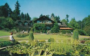 Lily Pond & Pavilion , Stanly Park , VANCOUVER , B.C. , 40-60s