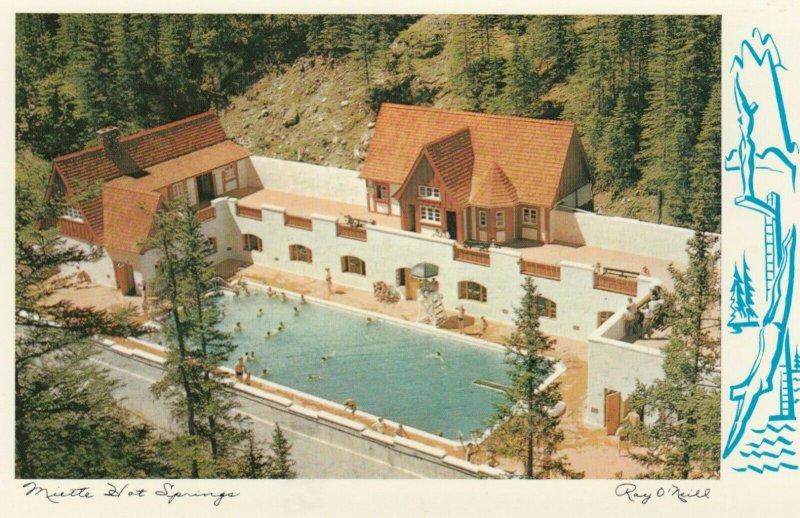 JASPER , Alberta , 1950-60s ; Miette Hot Springs