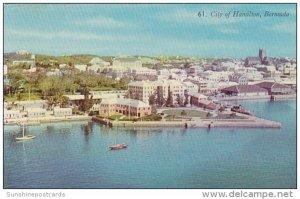 Bermuda Aerial View City Of Hamilton