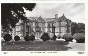 Yorkshire Postcard - Burton Agnes Hall - South View - Ref BR613