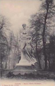 France Luneville Statue d'Emile Erckmann