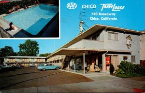 California Chico TraveLodge 1963