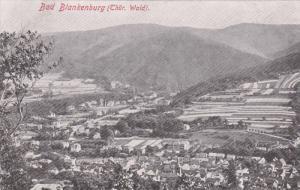 BAD BLACKENBURG, Thuringia, Germany; Aerial View, 00-10s