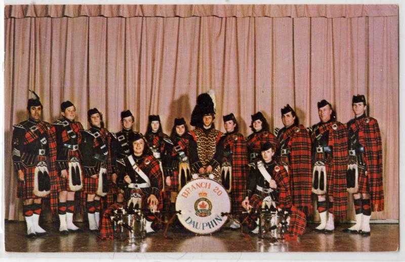 Pipe Band, Royal Canadian Legion #20, Dauphin Man. Can