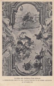 Chiesa Del Carmelitani Scalzi 1915 WW1 Italian War Religious Postcard