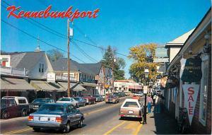 Street Scene Kennebunkport Maine ME