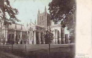 The Cathedral, N.E., Hereford, England, UK, 1900-1910s