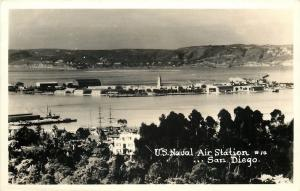 San Francisco CA Real Photo Postcard~Birdseye of Cliff House~Seal Rocks 1940s