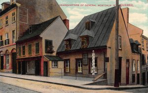 Headquarters of General Montcalm in Quebec, Canada, Early Postcard, Unused