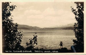USA - Evening Shadows Payette Lakes Idaho RPPC 03.03