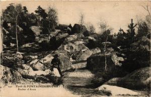 CPA Foret de FONTAINEBLEAU - Rocher d'Avon (436216)