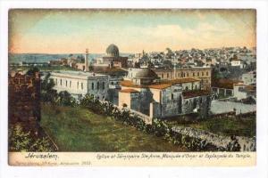 Eglise Et Seminaire Ste.Anne, Mosquee d'Omar Et Esplanade Du Temple, Jerusale...