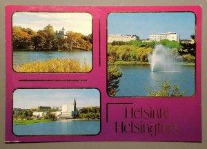 Helsinki, Helsingfors - Suomi - Finland - Finlandia-Talo Postcard
