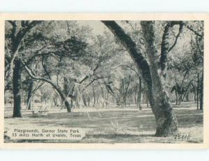 1940's CHILDREN'S PLAYGROUND EQUIPMENT Concan By Del Rio & San Antonio TX c8446