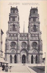 France Orleans La Cathedrale Ste Croix