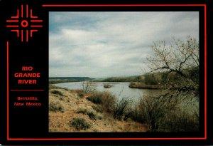 New Mexico Bernalillo Scene Along Rio Grande River