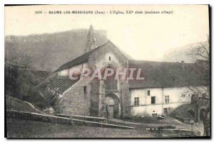 Old Postcard Baume the Jura Messier The XII century old abbey church