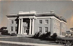 F41/ Montpelier Idaho RPPC Postcard c1930s City Hall Building