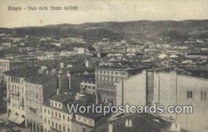 Vista dalla Piazza Goldoni Trieste, Italy Unused