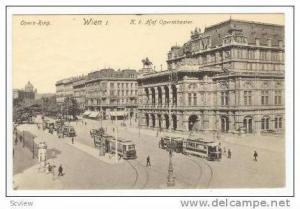 Wien I Austria, K.k. Hof Operntheater, 00-10s
