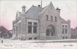 Nebraska Fremont Post Office 1906