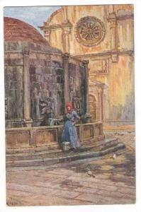 La Fontaine d'Onofrio, Raguse, Croatia, 1900-1910s